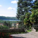 Vista sul lago di Alserio