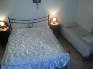 stanza matrimoniale con terzo letto